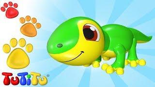 TuTiTu Animals | Animal Toys for Children | Lizard and Friends