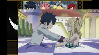 Fairy Tail-Lucy and Gray in QuickFloor Scene