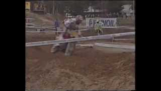 Urheiluruutu motocross MM 500 Ruskeasanta ja MM 250 Englanti 1987