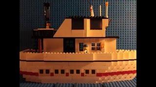 Lego ship sinking 3