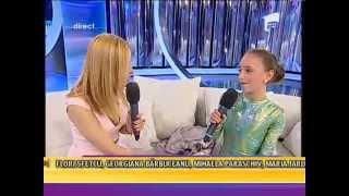 Fetiţa cu trup de gumă, Andreea Tucaliuc, număr de contorsionism extrem!