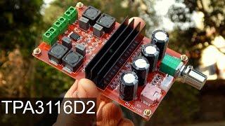 TPA3116D2 Amplifier Test   Class D 200 Watt Amplifier
