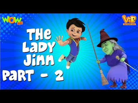 The lady jinn Part 02 - Vir: The Robot Boy WITH ENGLISH, SPANISH & FRENCH SUBTITLES