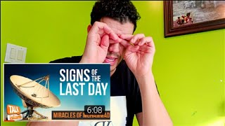 SIGNS OF THE LAST DAY REACTION | MIRACLES OF MUHAMMAD (PBUH)