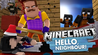 HELLO NEIGHBOUR IS HIDING A BIG SECRET - Donut the Dog Minecraft Roleplay