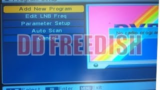 Information regarding retuning⁄rescanning of DD Free Dish DTH Set Top Box