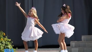 Sophia Grace and Rosie sing 'Do You Want To Build A Snowman?'