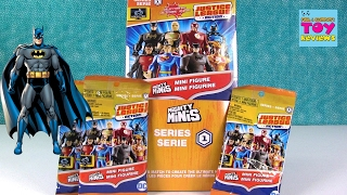 Justice League Mighty Minis Super Hero Figures Full Set Opening | PSToyReviews