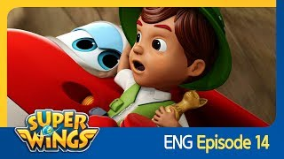 [Super Wings] EP 14 - The Pyramid Kid(ENG)