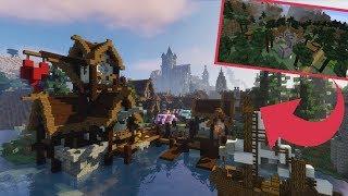 Extreme Spruce Village Transformation - Minecraft Timelapse [Download]