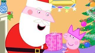 Peppa Pig Episodes in 4K   Santa visits Peppa!   12 DAYS OF PEPPA