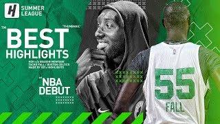 Tacko Fall NBA Debut! BEST Highlights & Moments From 2019 NBA Summer League!