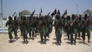A Woman Somalia Soldier
