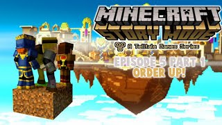 Minecraft: Story Mode - Episode 5 Part 1 (NO COMMENTARY)