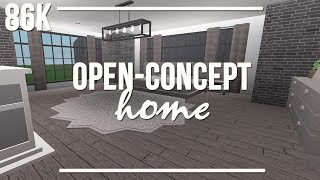 ROBLOX | Welcome to Bloxburg: Open-Concept Home 86k