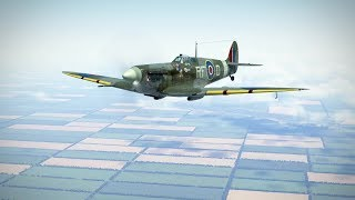 IL-2: Spitfire MkV vs Bf 109 F-4 (not for sensitive people)