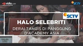 Derai Tangis Di Panggung D'Academy Asia - Halo Selebriti 16/12/15