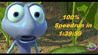 A Bug's Life 100% Speedrun in 1:39:59