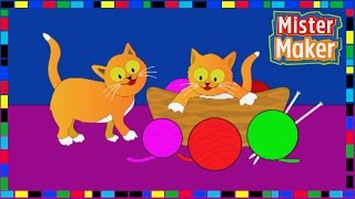 The Shapes Dance: Cats! | Mister Maker
