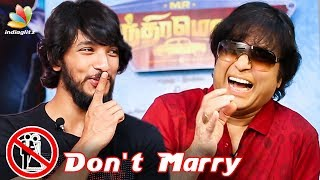 DON'T MARRY !! Karthik Advice to Gautham - Fun Interview | Mr.Chandramouli, Red Carpet