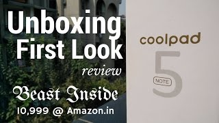 Hindi | Coolpad Note 5 Unboxing & First Look Review | Sharmaji Technical
