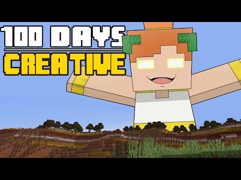 100 Days Minecraft Creative