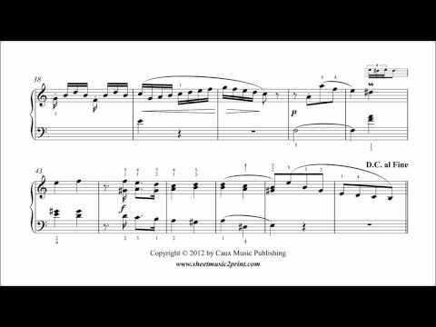 Benda : Sonatina in A minor for Piano