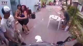 ตำรวจบราซิลไล่จับ โจรอย่างมัน