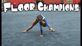 Amazing 7 Year Old Gymnast - 9.8 On Floor| Rachel Marie