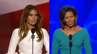 Trump Campaign Denies Melania Plagiarized Michelle Obama