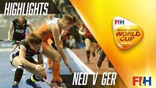 Netherlands v Germany - Match Highlights Indoor Women