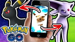 HOW TO EVOLVE ESPEON AND UMBREON EASTER EGG (Pokemon Go)