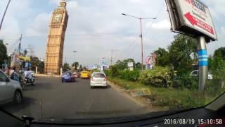 VIP Road Kolkata - Light To Moderate Traffic - From Hudco Towards Lake Town /  Bangur