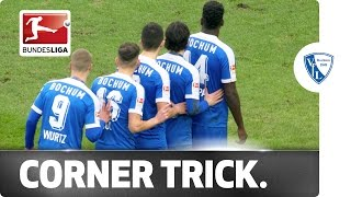 Queuing Up To Score! Bizarre Corner Routine Finds the Net
