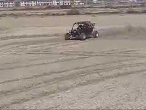 Buggy BOOXT tests dérapages sauts et stunt
