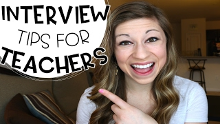 Interview Tips for Teachers | That Teacher Life Ep 34