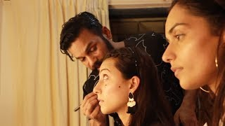 Miss India 2017 Winners Makeup Session With Clint Fernandes