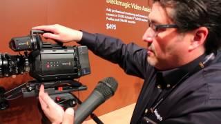 الكاميرا السينمائية Blackmagic Ursa Mini 4k - انتاج 2015- أكاديمية إنكي للفيلم