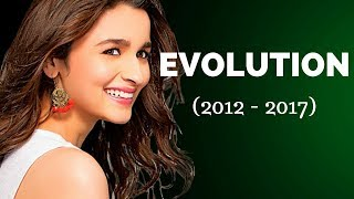 Alia Bhatt Film Evolution | (2012-2017)
