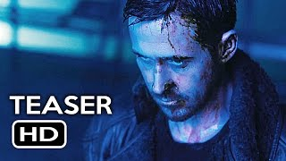 Blade Runner 2049 Official Trailer #1 Teaser (2017) Ryan Gosling, Harrison Ford Sci-Fi Movie HD