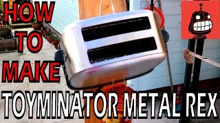 Stupid Robot Fighting League - Making Toyminator Metal Rex with the Te Puke Toy Library Team