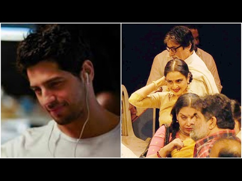 Sidharth Confesses He's In Love | Amitabh-Rekha Under A Roof