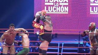 México Internacional vs USA TNA, Lucha Libre Victoria World Cup, 4tos de final Puebla