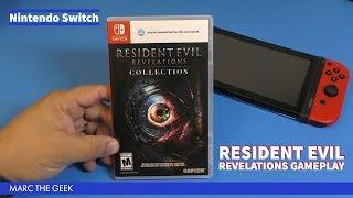 Nintendo Switch Resident Evil: Revelations Gameplay
