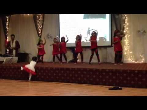 Sha la la dance from Edmonton knanaya girls