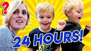 Kids Control The Day For 24 Hours! Jackson and Calvin pick EVERYTHING!   Ellie And Jared