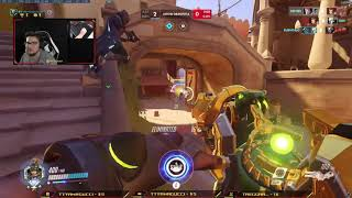 The Most Enjoyable Overwatch Game Ever (Ft. Rectangle Man)
