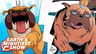 Get to know Lockjaw from Marvel Rising!   Earth