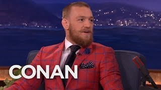 Conor McGregor Got His Start As A Plumber  - CONAN on TBS
