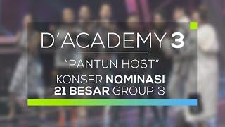 Host D'Academy 3 Berpantun. Bikin Ngakak!